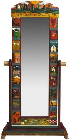 Sticks Free Standing Dressing Mirror 909 - ArtcraftOnline.com