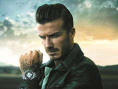 David Beckham is one of stylist celebrity's. He has a great taste of fashion. He is a rolemodel for me.