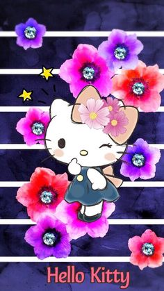 Hello Kitty Drawing, Hello Kitty Art, Hello Kitty Themes, Hello Kitty My Melody, Sanrio Hello Kitty, Hello Kitty Backgrounds, Hello Kitty Wallpaper, Images Hello Kitty, Hello Kitty Imagenes
