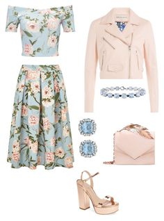"""""""🌸🌸🌸"""" by taliaroyceofficial ❤ liked on Polyvore featuring Emilio Pucci, Miss Selfridge, RALPH & RUSSO, Charles David and Miadora"""
