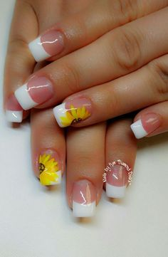 60 Best French Acrylic Nails Ideas For Spring Time French Nails French Gel, French Acrylic Nails, Summer Acrylic Nails, French Tip Nails, Acrylic Nail Art, Acrylic Nail Designs, Spring Nails, Summer Nails, French Manicures