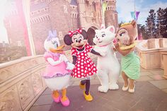 東京ディズニーランド,3月3日,女の子の日,ミニー,デイジー,クラリス,マリー