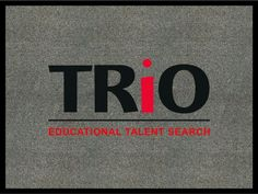 Custom Floor Mat project:  Alabama Southern Community College, TRiO Educational Talent Search – 9/12/2013  http://proformatrioideas.com/ #TRIO #TRIOWorks