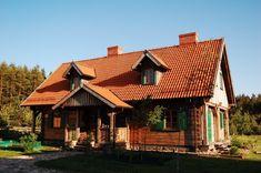 Dom drewniany z bali – Kurtyń na Mazurach