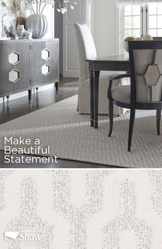 Make a beautiful statement in any room with Shaw's Brushstroke Carpet from the Caress line. This pattern is made with Anso Caress nylon, so you'll enjoy our softest fiber under your feet. But expect durability and easy care, too: spills and liquid messes are no problem, thanks to Shaw's R2X® stain and soil protection system. And because Anso nylon carries such strong warranty coverage, you can truly relax and enjoy your new floors.