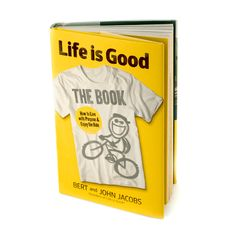 From Life is Good founders and brothers Bert and John Jacobs, this inspiring book of wisdom celebrates the power of optimism: the driving force behind their beloved, socially conscious clothing and lifestyle brand, now worth more than $100 million.