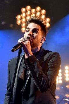 Queen + Adam Lambert warm up gig for their USA Tour at the iHeartRadio Theater on June 16, 2014