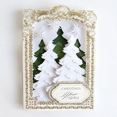 HSN July 14th, 2020 - Product Preview 3 - Anna Griffin Anna Griffin Inc, Anna Griffin Cards, 12 Days Of Christmas, Christmas Items, Christmas Meals, Holiday Cards, Christmas Cards, Easel Cards, 3d Cards