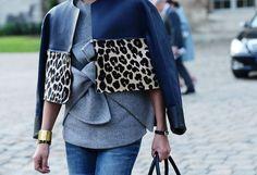 CELINE leopard