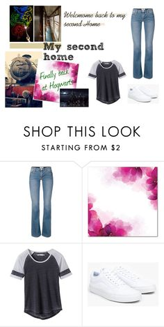 """""""Back To Hogwarts"""" by iqralohsar ❤ liked on Polyvore featuring prAna and Vans"""