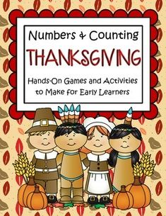 This is a collection of hands-on centers, large and small group activities, and teaching props to present a comprehensive foundational coverage for the Common Core standard of Counting and Cardinality for early learners. 91 pages. #KidSparkz
