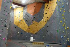 Vertical World North gym by Elevate Climbing Walls Climbing Wall, Rock Climbing, Walls, Tapestry, Gym, Painting, Home Decor, Hanging Tapestry, Tapestries