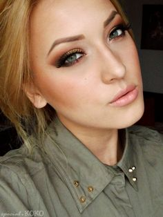 Awesome make-up tutorials! This girl is awesome with make-up and hair. Def pin.