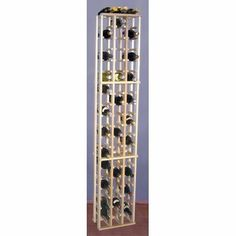 Country Pine 63 Bottle Wine Rack by Wine Cellar Innovations. $100.98. CP3 Features: -Capacity is for 63 bottles.-Racks must be secured to the wall.-To maximize the depth of your space, two components can be attached with our special braces. Includes: -All hardware is included. Color/Finish: -Pine is characterized by its soft creamy color combined with subtle streaks and small knot patterns - a first choice for a rustic decor. Dimensions: -Overall dimensions: 72'' H x 1...