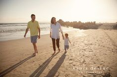 Coronado beach, family session