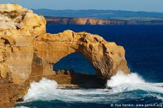 The Arch at Sunset, The Twelve Apostles, Great Ocean Road, Port Campbell National Park, Victoria, Australia.