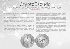 Uma iniciativa de cidadãos. De todos para todos! Contamos consigo! www.cryptoescudo.pt  Folheto em formato A5, disponível no material promocional.