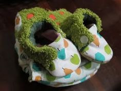 cloth diaper with matching booties. I need to practice sewing so maybe one day...