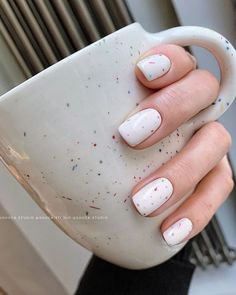 Pin on { nails } Stylish Nails, Trendy Nails, Cute Nails, My Nails, Minimalist Nails, Colored Acrylic Nails, Gel Nagel Design, Nagellack Trends, Dream Nails