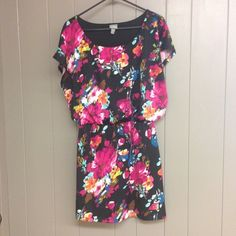 """Spotted while shopping on Poshmark: """"Floral Dress""""! #poshmark #fashion #shopping #style #Vanity #Dresses & Skirts"""