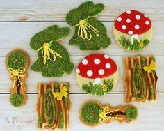 Moss Cookies   www.ThePartiologist.com