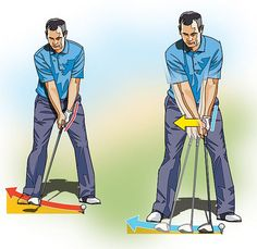 HIGH HANDICAPPER: Get a Grip on Your Takeaway Many golfers abruptly snatch the club away at the start of the takeaway, cupping their left wrist. This lifting action creates a number of different problems, most notably a narrowing of your swing
