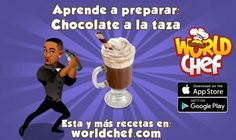 Chocolate World, Hot Chocolate, World Chef, Cereal, Favorite Recipes, Learning, Breakfast, How To Make, Foods