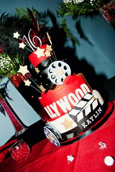 Sweet 16 Cake - Hollywood Theme                                                                                                                                                     More