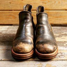 【ローリングダブトリオ】コペンの茶芯と経年変化   HDRブログ:Marsh of HDR Men S Shoes, Buy Shoes, Shoes Sneakers, Leather Men, Leather Shoes, Fashion Boots, Mens Fashion, Blundstone Boots, Red Wing Shoes