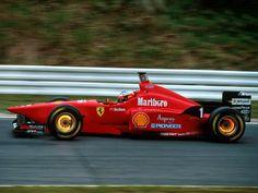Michael Schumacher, F310, 1996. #F1 #MichaelSchumacher #ScuderiaFerrari #F310 #getwellsoonmsc #keepfightingmichael #ForzaMichael #ForzaSchumi