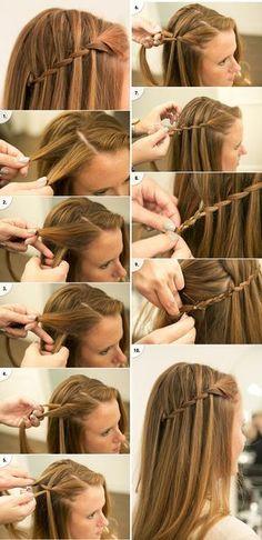 Very long hair updo simple 50 super ideas Creative Hairstyles, Braided Hairstyles, Hair Upstyles, Front Hair Styles, Very Long Hair, Hair Looks, Hair Inspiration, Hair Makeup, Hair Beauty