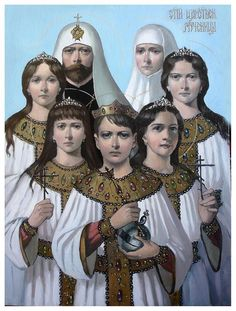 Romanov imperial family Icon & THE SECRETS OF THE ROMANOVS ~ http://www.pinterest.com/pin/488148047083013071/