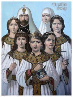 Romanov imperial family Icon & THE SECRETS OF THE ROMANOVS ~ http://www.pinterest.com/pin/488148047083013071/