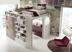 Bedroom Design Ideas For Couples and Bedroom Decor Ideas For Small Rooms. Cute Bedroom Ideas, Awesome Bedrooms, Cool Rooms, Awesome Beds, Bedroom Ideas For Small Rooms For Adults, Childrens Bedroom Ideas, Bedroom Decor Ideas For Teen Girls, Adult Bedroom Ideas, Coolest Bedrooms