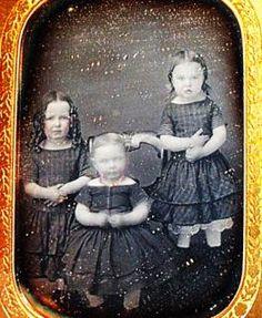 Victorian Era Sisters - Vintage