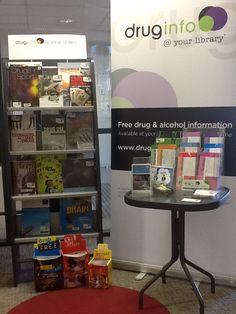 Leeton Library - Drug Action Week display