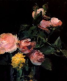 edouard manet flowers | Flowers by Édouard Manet, part III.