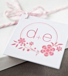 Logo Tag - Any Logo Design Wedding Logo Tag