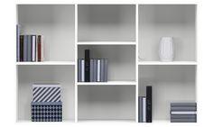 Regale und Bücherschränke - Como Regal - Weiß - Lack