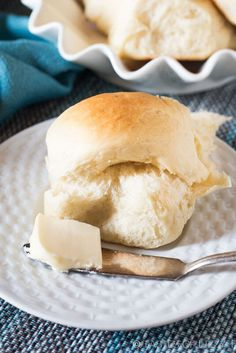 Buttery Soft Rolls are the best and simplest homemade rolls ever. They're super soft and perfect with any soup, salad or main dish.