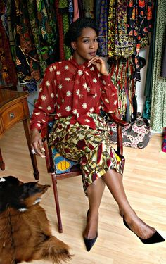 African Prints in Fashion: Vou Brown: African Fashion Boutique in London