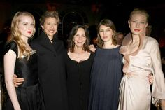Sept. 20, 2006: With (from left) Evan Rachel Wood, Annette Bening, director Sofia Coppola and Cate Blanchett at a Premiere Magazine