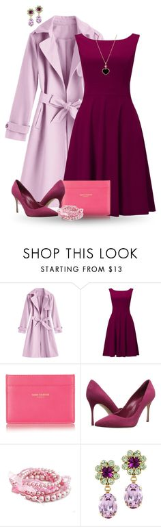 """""""Outfit Set #177! :-)"""" by vahrendsen1988 ❤ liked on Polyvore featuring Phase Eight, Yves Saint Laurent, Sergio Rossi, Otazu and Chopard"""