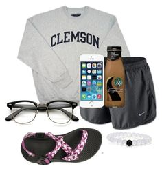 """I have snapchat!!!"" by sofiaestrada ❤ liked on Polyvore featuring NIKE"
