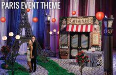 Ooh La La  or Moo La La  - Paris Event Theme, Paris Theme Party www.stumpsparty.com