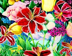 Drawing Flowers with Colored Pencils (Steinberg) 051113 | Monmouth ...
