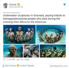 Social-Political-Activists-Statues Underwater Sculpture, Confederate Statues, International University, No Man's Sky, Social Activist, Language And Literature, Religion And Politics, Change Image, Political Leaders