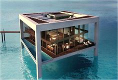 Residence in the sea - Abu Dhabi
