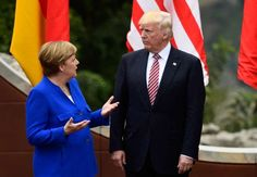 """German Chancellor Angela Merkel says Europe must fight for its own destiny in a western alliance divided by Brexit and the presidency of Donald Trump, with whom she did not see eye to eye at the """"six against one"""" G7 summit"""