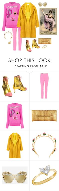 """Throw your legs in the air, the weekend is finally here"" by juliabachmann ❤ liked on Polyvore featuring Bally, Gucci, Dolce&Gabbana, Tom Ford, Raey and Roberto Coin"